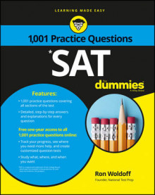 1,001 SAT Practice Problems For Dummies av Ron Woldoff og Consumer Dummies (Heftet)