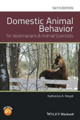 Omslag - Domestic Animal Behavior for Veterinarians and Animal Scientists