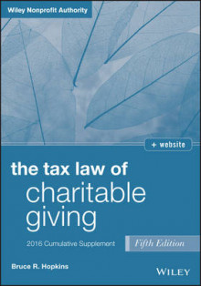 Tax Law of Charitable Giving 2016 Cumulative Supplement 2016: Cumulative Supplement av Bruce R. Hopkins (Heftet)