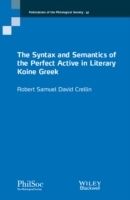 Omslag - The Syntax and Semantics of the Perfect Active in Literary Koine Greek