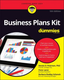 Business Plans Kit For Dummies av Barbara Findlay Schenck, Peter E. Jaret, Steven D. Peterson og Dummies (Heftet)