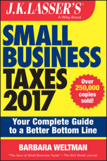 J.K. Lasser's Small Business Taxes 2017 av Barbara Weltman (Heftet)