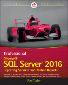 Professional Microsoft SQL Server 2016 Reporting Services and Mobile Reports av Paul Turley (Heftet)