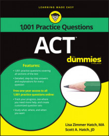 1,001 ACT Practice Problems For Dummies av Lisa Zimmer Hatch, Scott A. Hatch og Consumer Dummies (Heftet)