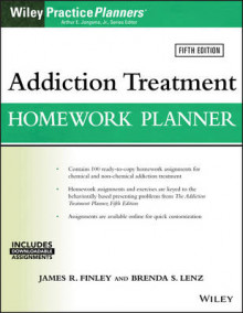 Addiction Treatment Homework Planner av James R. Finley, Brenda S. Lenz og Arthur E. Jongsma (Heftet)