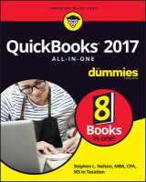 Omslag - QuickBooks 2017 All-In-One for Dummies