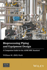 Omslag - Bioprocessing Piping and Equipment Design