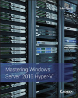 Omslag - Mastering Windows Server 2016 Hyper-V