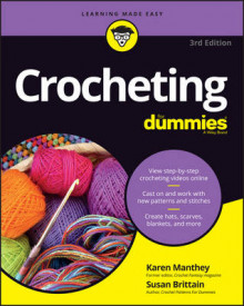 Crocheting For Dummies, + Video av Susan Brittain, Karen Manthey og Julie Holetz (Heftet)