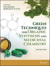 Omslag - Green Techniques for Organic Synthesis and Medicinal Chemistry