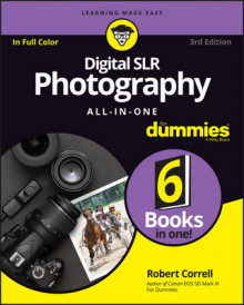 Digital SLR Photography All-in-One For Dummies av Robert Correll (Heftet)