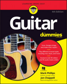 Guitar for Dummies, 4th Edition av Mark Phillips, Jon Chappell og Hal Leonard Corporation (Heftet)