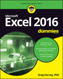 Excel 2016 For Dummies av Greg Harvey (Heftet)