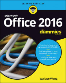 Office 2016 For Dummies av Wallace Wang (Heftet)