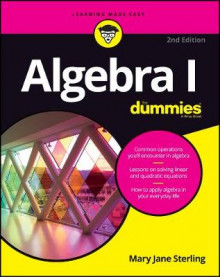 Algebra I for Dummies, 2nd Edition av Mary Jane Sterling (Heftet)