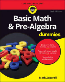 Basic Math & Pre-Algebra For Dummies av Mark Zegarelli (Heftet)