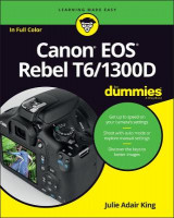 Omslag - Canon EOS Rebel T6/1300D For Dummies