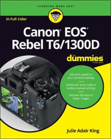 Canon EOS Rebel T6/1300D For Dummies av Julie Adair King (Heftet)
