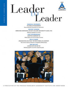 Leader to Leader (LTL) Summer, 2016: Volume 81 av LTL (Heftet)