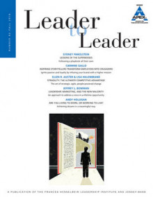 Leader to Leader (LTL) Fall, 2016: Volume 82 av LTL (Heftet)