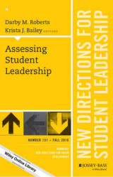 Omslag - Assessing Student Leadership: New Directions for Student Leadership Number 151