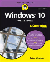 Omslag - Windows 10 for Seniors For Dummies