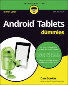 Android Tablets for Dummies, 4th Edition av Dan Gookin (Heftet)
