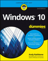 Omslag - Windows 10 For Dummies
