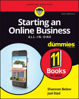 Omslag - Starting an Online Business All-in-One for Dummies