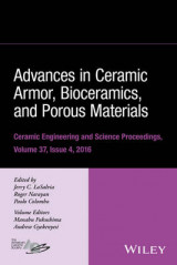 Omslag - Advances in Ceramic Armor, Bioceramics, and Porous Materials