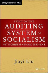 Omslag - Study on the Auditing System of Socialism with Chinese Characteristics