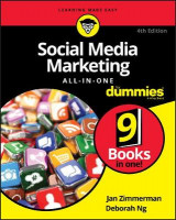 Omslag - Social Media Marketing All-in-One For Dummies