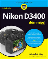Omslag - Nikon D3400 For Dummies