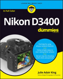 Nikon D3400 For Dummies av Julie Adair King (Heftet)