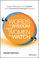 Omslag - Words of Wisdom from Women to Watch