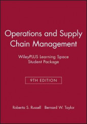 Operations and Supply Chain Management, 9e Wileyplus Learning Spacestudent Package av Roberta S Russell og Bernard W Taylor (Heftet)