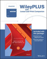Omslag - Mechanics of Materials: An Integrated Learning System, 4e Wileyplus Registration Card + Loose-Leaf Print Companion