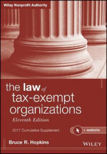 The Law of Tax-Exempt Organizations + Website 2017: Cumulative Supplement av Bruce R. Hopkins (Heftet)