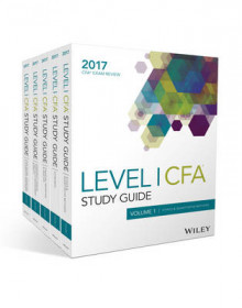 Wiley Study Guide for 2017 Level I CFA Exam: Complete Set av Wiley (Heftet)