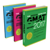 Omslag - The Official Guide to the GMAT Review 2017 Bundle + Question Bank + Video