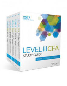Wiley Study Guide for 2017 Level III CFA Exam: Complete Set av Wiley (Heftet)