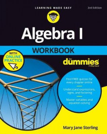 Algebra I Workbook for Dummies 3E with Online Practice av Mary Jane Sterling (Heftet)