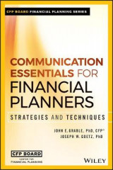Omslag - Communication Essentials for Financial Planners