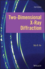 Omslag - Two-dimensional X-ray Diffraction