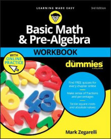 Basic Math and Pre-Algebra Workbook For Dummies av Mark Zegarelli (Heftet)