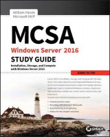 Omslag - MCSA Windows Server 2016 Study Guide: Exam 70-740