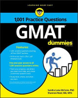 Omslag - 1,001 GMAT Practice Questions For Dummies