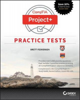 Omslag - CompTIA Project+ Practice Tests