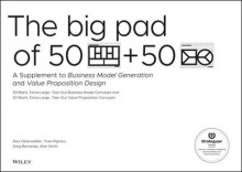 The Big Pad of 50 Blank, Extra-Large Business Model Canvases and 50 Blank, Extra-Large Value Proposition Canvases av Alexander Osterwalder, Yves Pigneur, Gregory Bernarda og Alan Smith (Heftet)