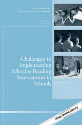 Omslag - Challenges to Implementing Effective Reading Intervention in Schools